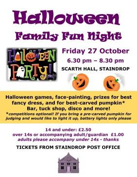 Halloween Fun Night 27 Oct latest