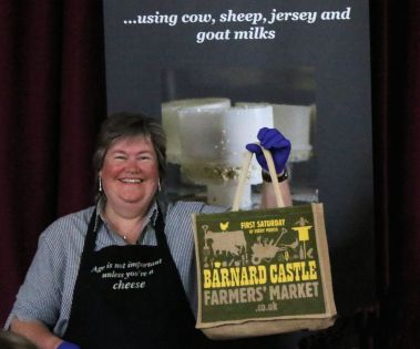 Mini-hamper prize for the Cheese Quiz winner!