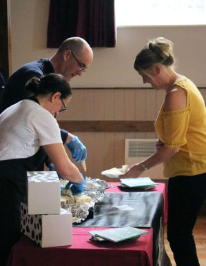 Teesdale Cheesemakers present their wares