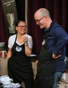 Teesdale Cheesemakers enjoy a moment