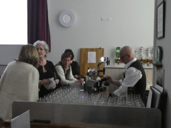 Busy at the bar